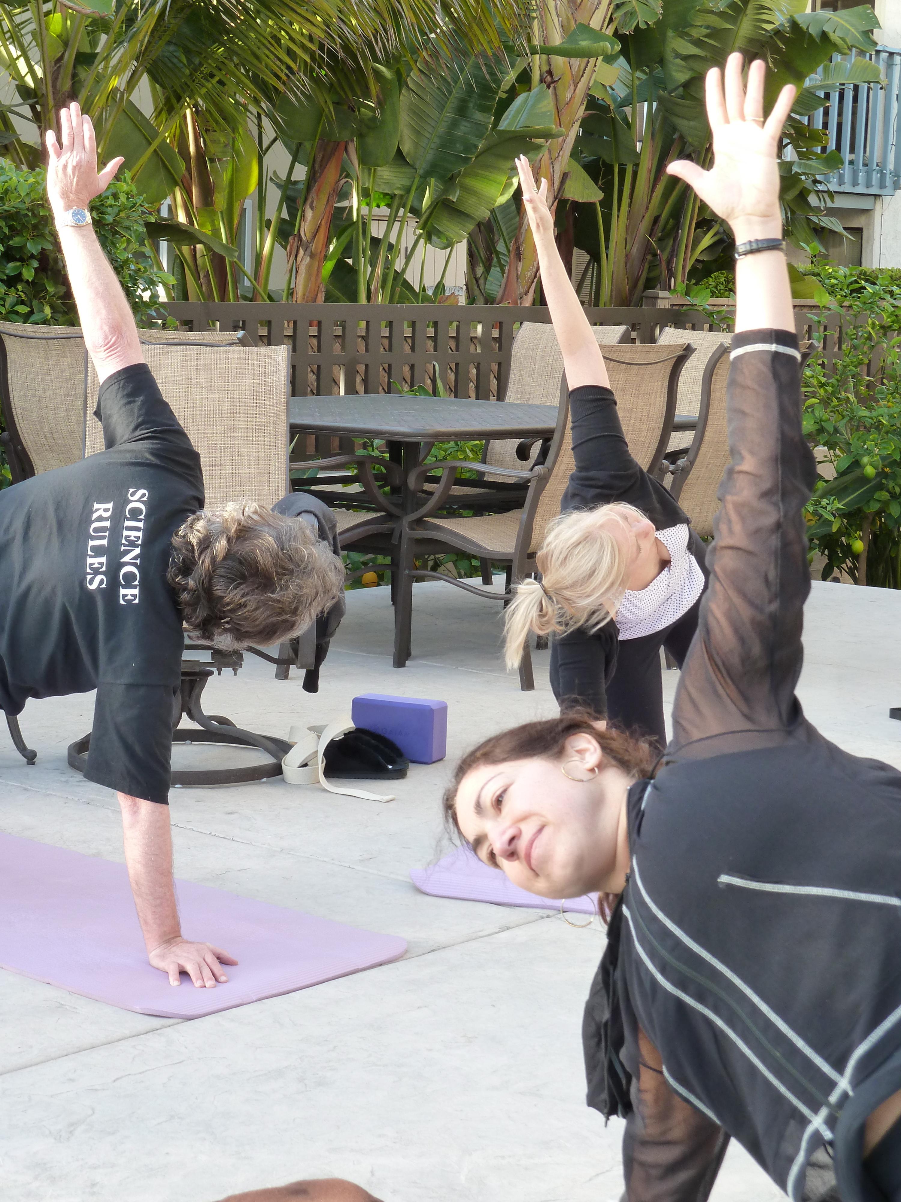 San diego bike ride along the boardwalk yoga by fran for Yoga retreat san diego