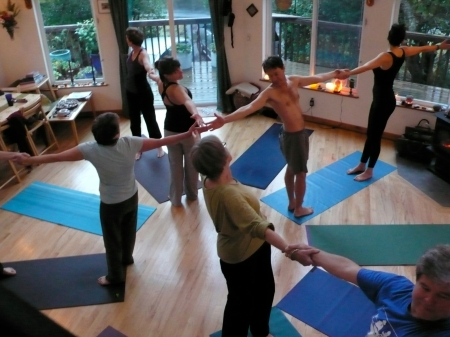 Yoga Star:  we actually had a professional photographer take photos of the group doing yoga on Sunday morning.  As always when a photographer is present, we are more aware of our alignment and we work 10x harder! I took this photo, but the professional photos will appear on my website next year.