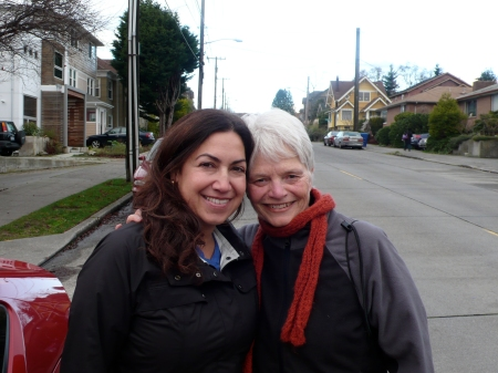 With lovely Jan Dahl after our yoga session!