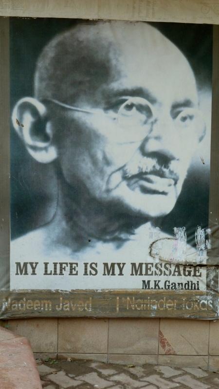 Raj-Ghat, The Memorial to Gandhi, Delhi