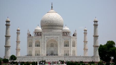 Taj Mahal in Agra!