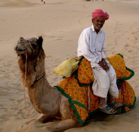 Rajasthani desert