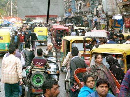 Old Delhi Street Scene I