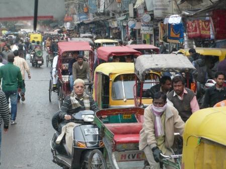Old Delhi Street Scene II