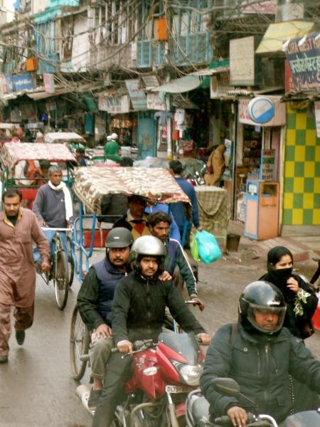 Old Delhi Street Scene III
