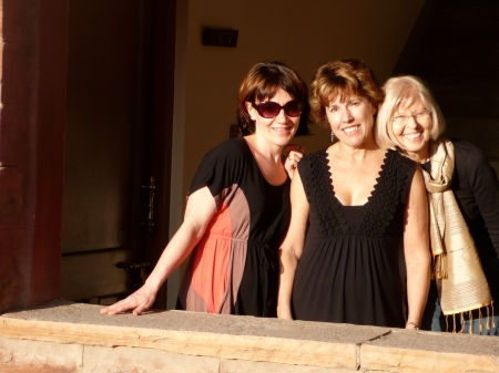Arrival in Jodhpur!! Angel, Kelley, and Tone bathed in Rajasthani light!