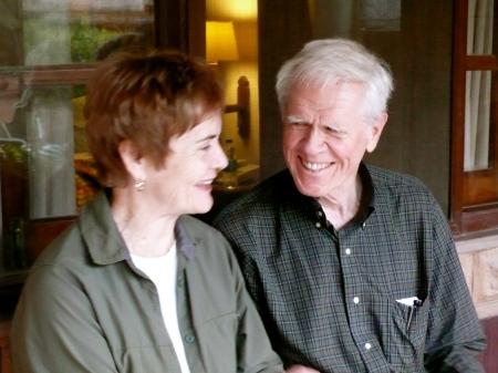 Ann and Bob DeBusk enjoying the evening