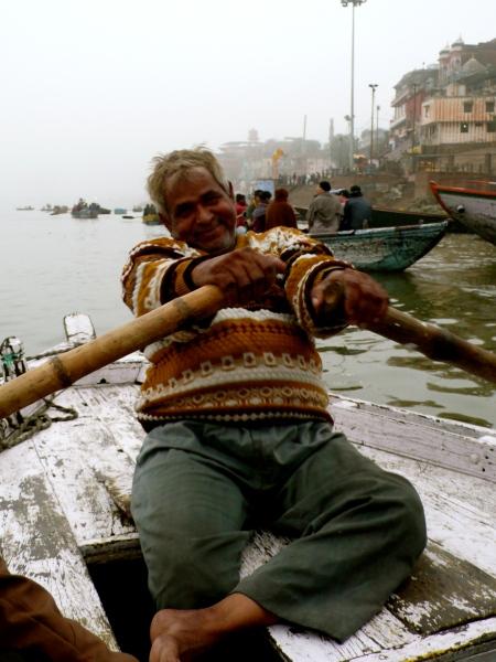 Our hardworking oarsman