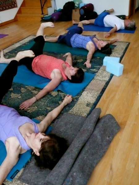 One of four Hatha Yoga sessions: Flexible