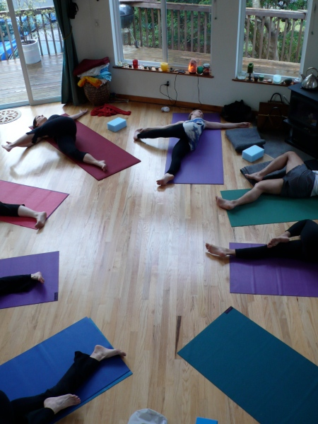 Twists, Circles, and Yogis At Little Renaissance