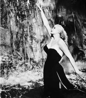Ok, so Anita Eckberg is not Italian, but her stunning beauty prompted Fellini to cast her in La Dolce Vita.