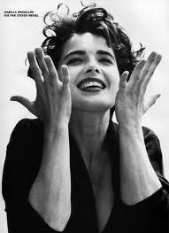 Isabella Rossellini: a face of pure joy!