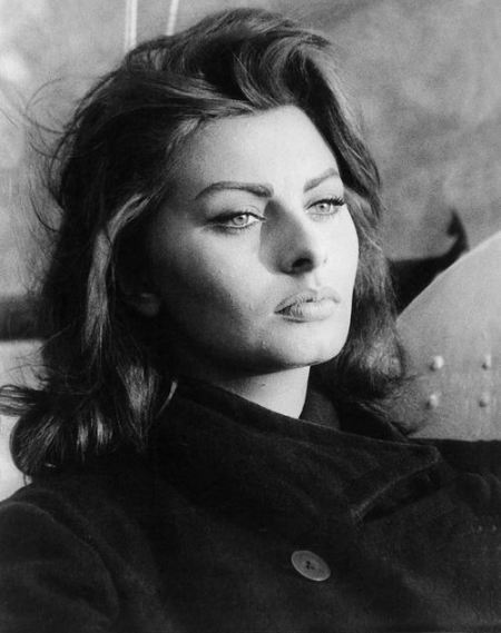 "Sophia was born Sofia Scicolone before changing her name to Sophia Loren.  I doubt she ever had to concern herself with saving her ""sexy""."