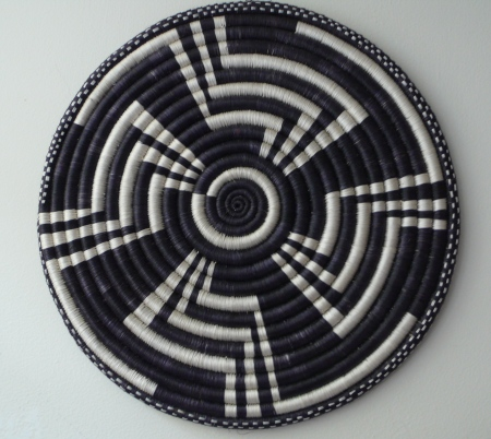 African hand-made wall hanging-  another treasure