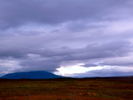 Landscape from Strokker Geyser