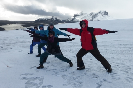 Warriors on the Glacier